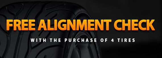 Wheel Alignment Check Coupon in Denton, TX